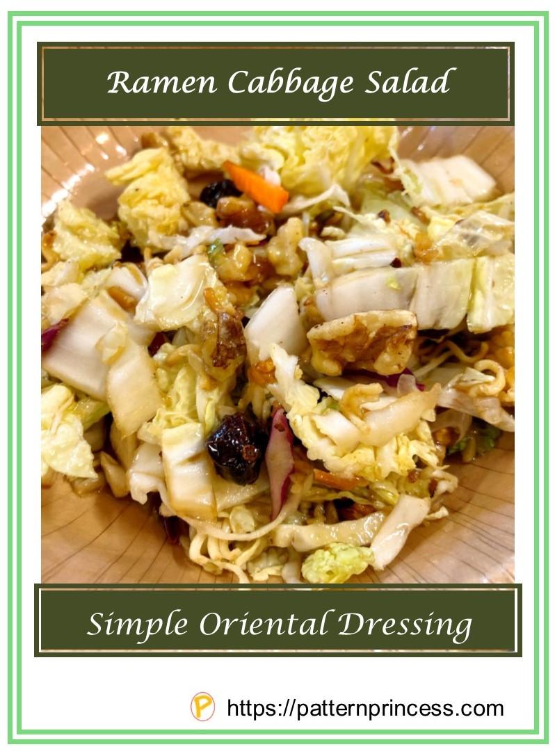 Ramen Cabbage Salad 1