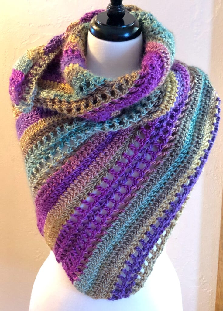 Crochet Scarf Styled