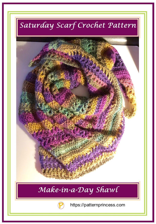 Saturday Scarf Crochet Pattern