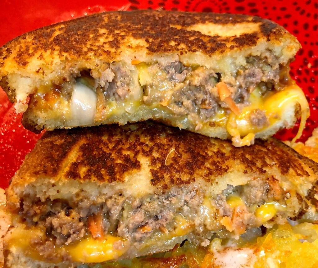 Grilled Leftover Meatloaf Sandwich