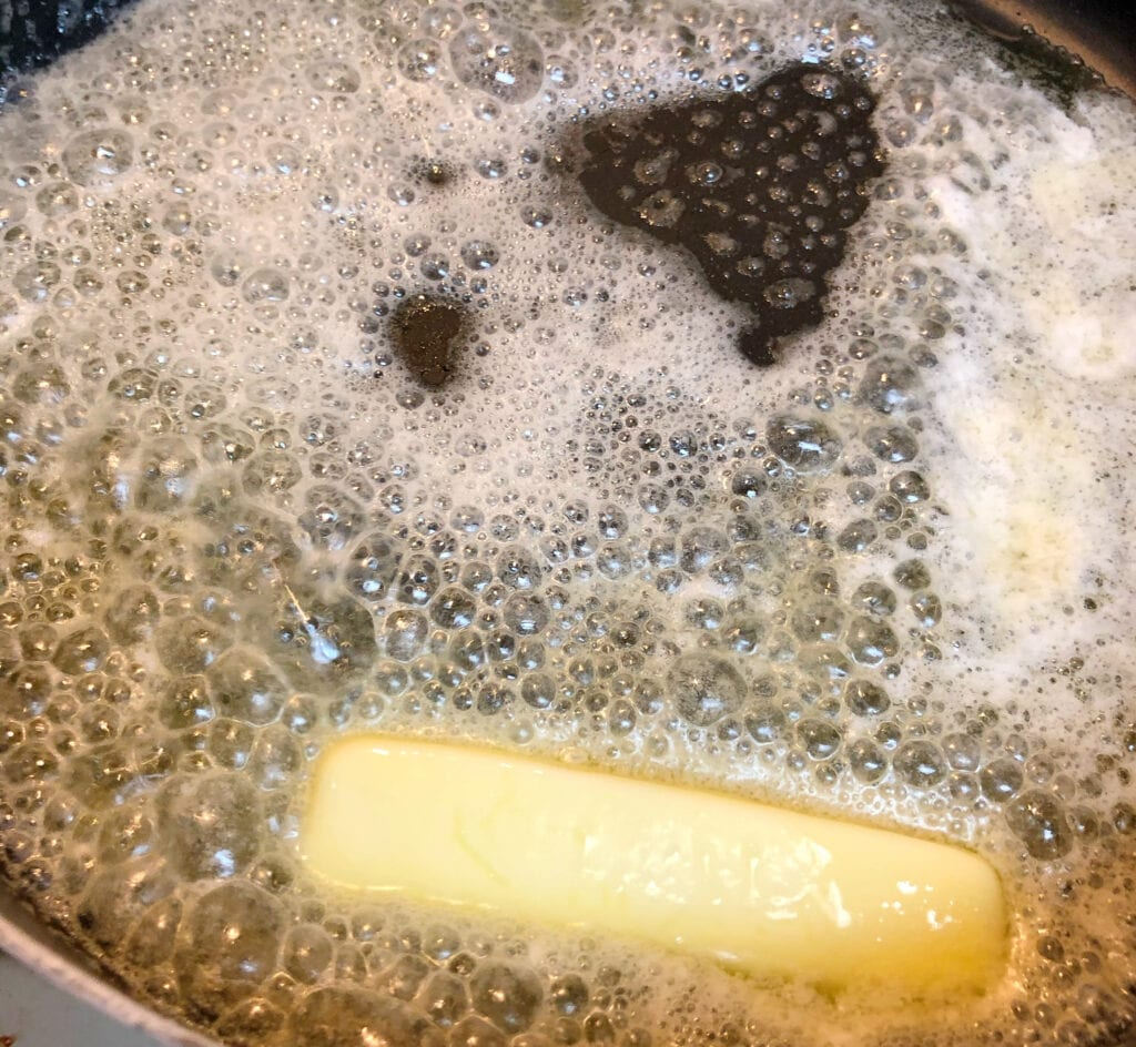 Melting Butter in Pan