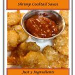 Homemade Shrimp Cocktail Sauce