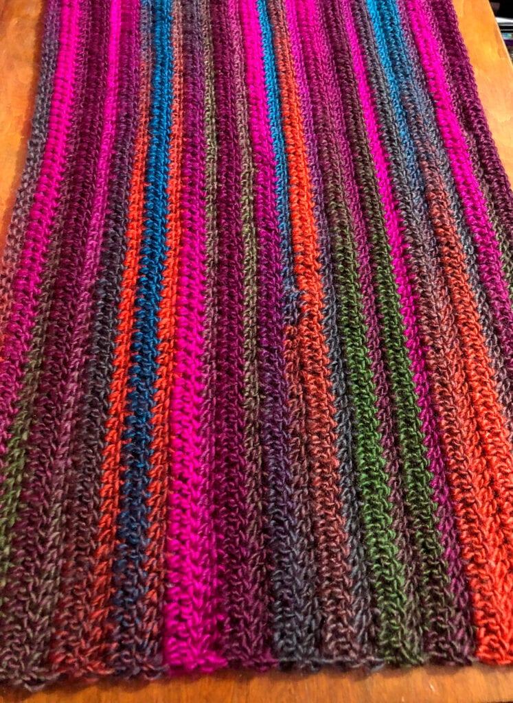 4-Hour Crochet Table Runner