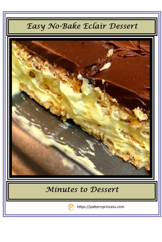 No Bake Eclair Dessert