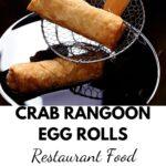 Crab Rangoon Egg Rolls