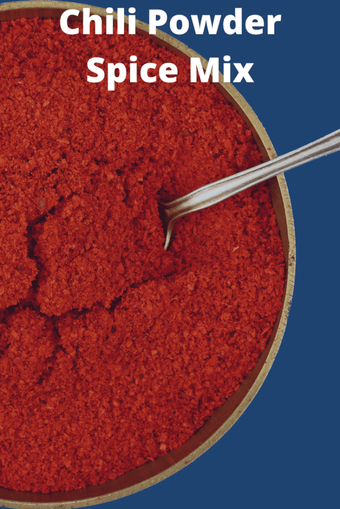 Chili Powder Spice Mix in a Bowl