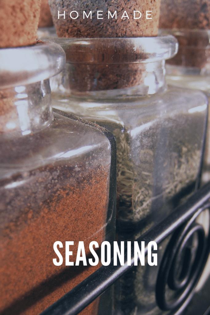 Homemade Seasoning Spice Jars