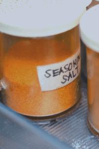 Seasoned Salt in Container