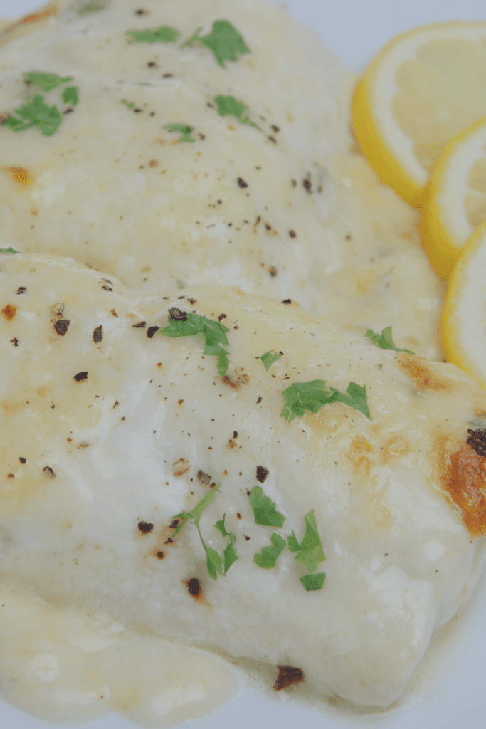 Baked Fish with Lemon and Pepper