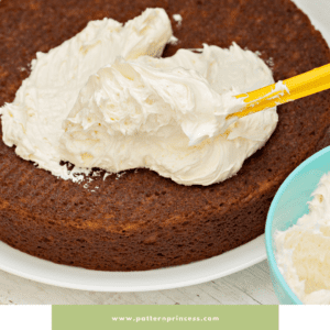 Frosting a Round Cake
