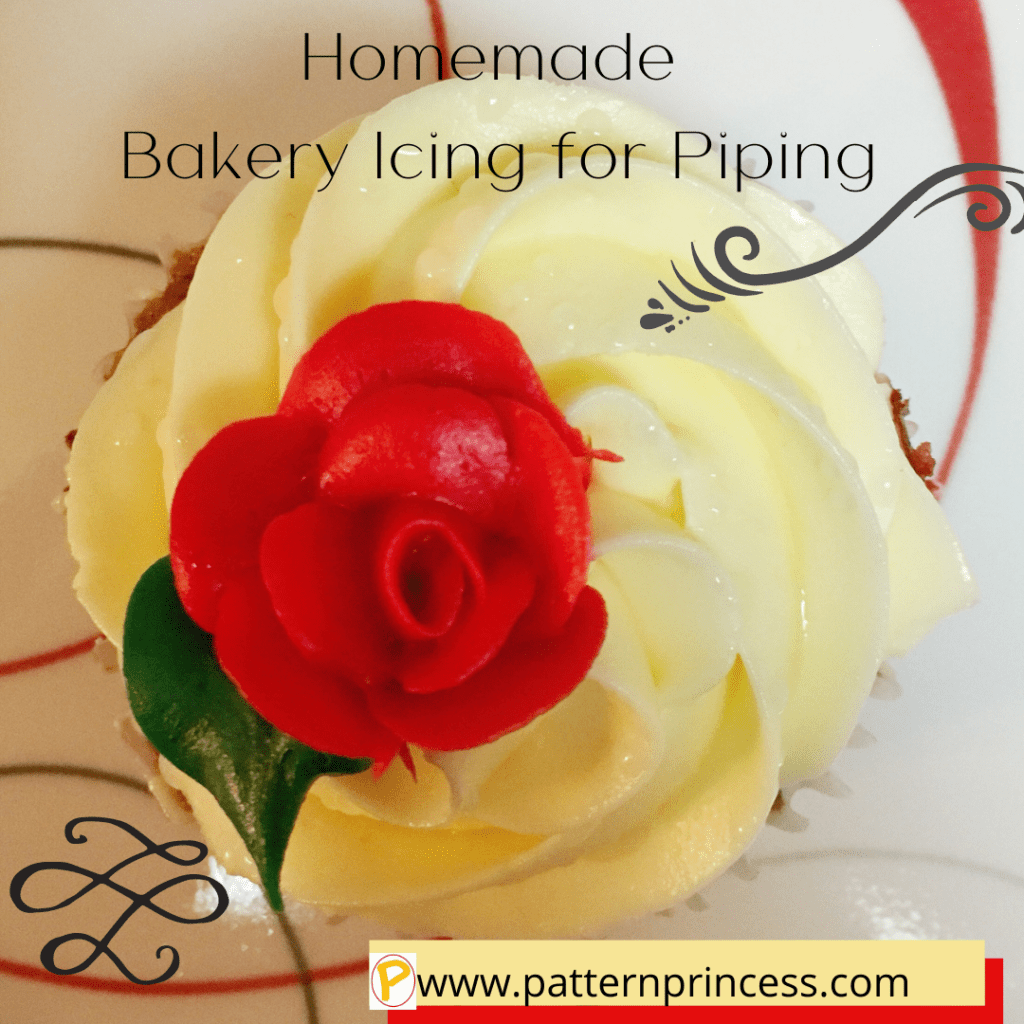 Homemade Bakery Icing for Piping