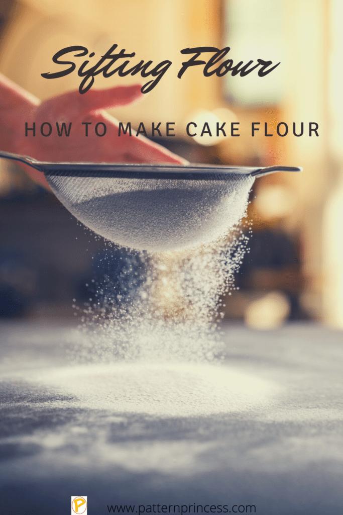 how to make cake flower