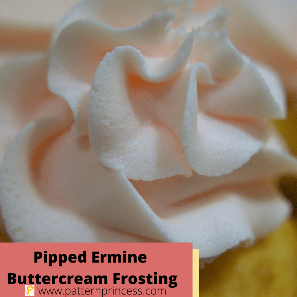 Pipped Ermine Buttercream Frosting