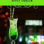 non-alcoholic Sour Apple Cooler