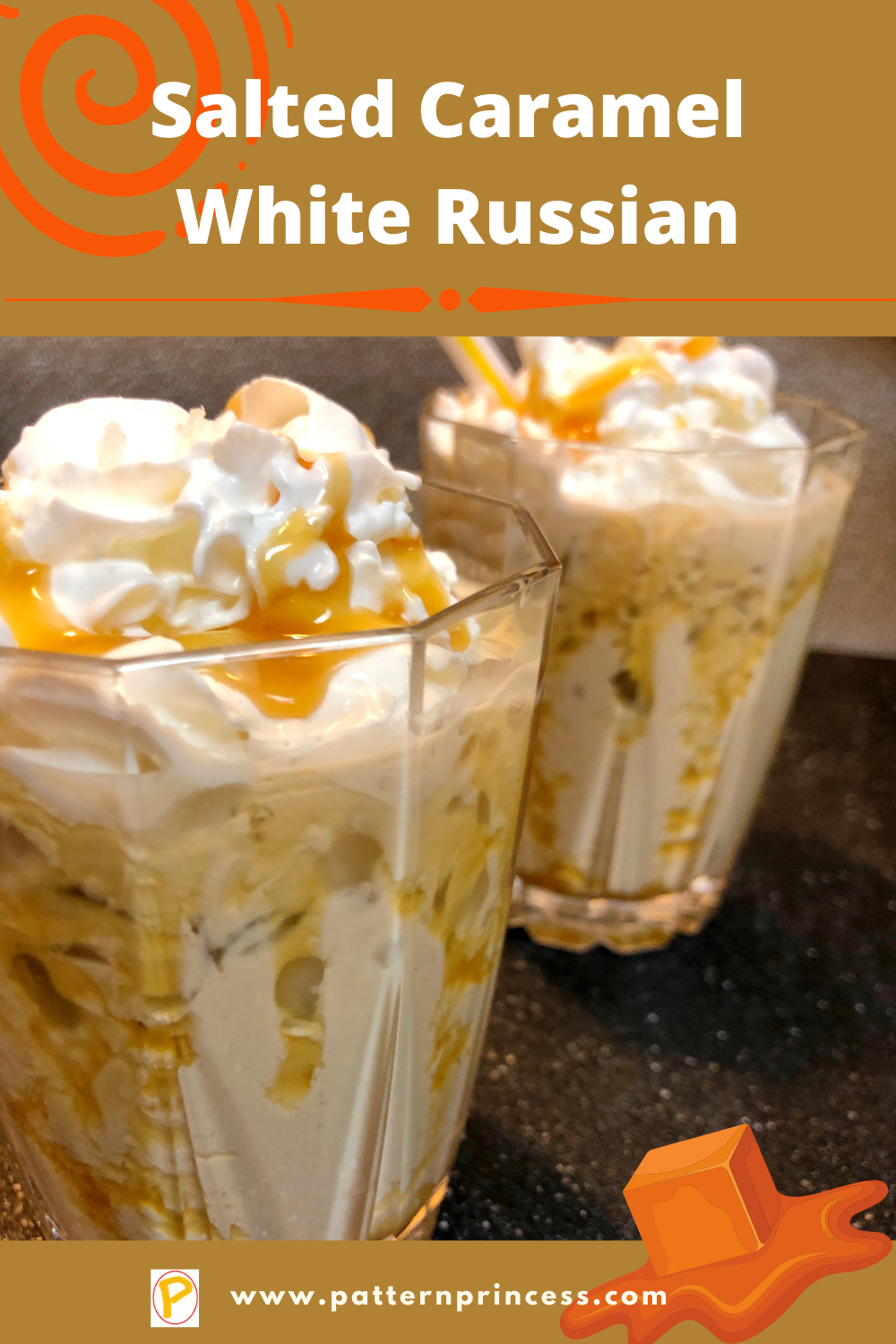 Salted Caramel White Russian