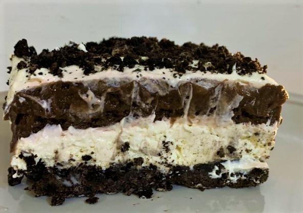 Chocolate Cream cheese Dessert