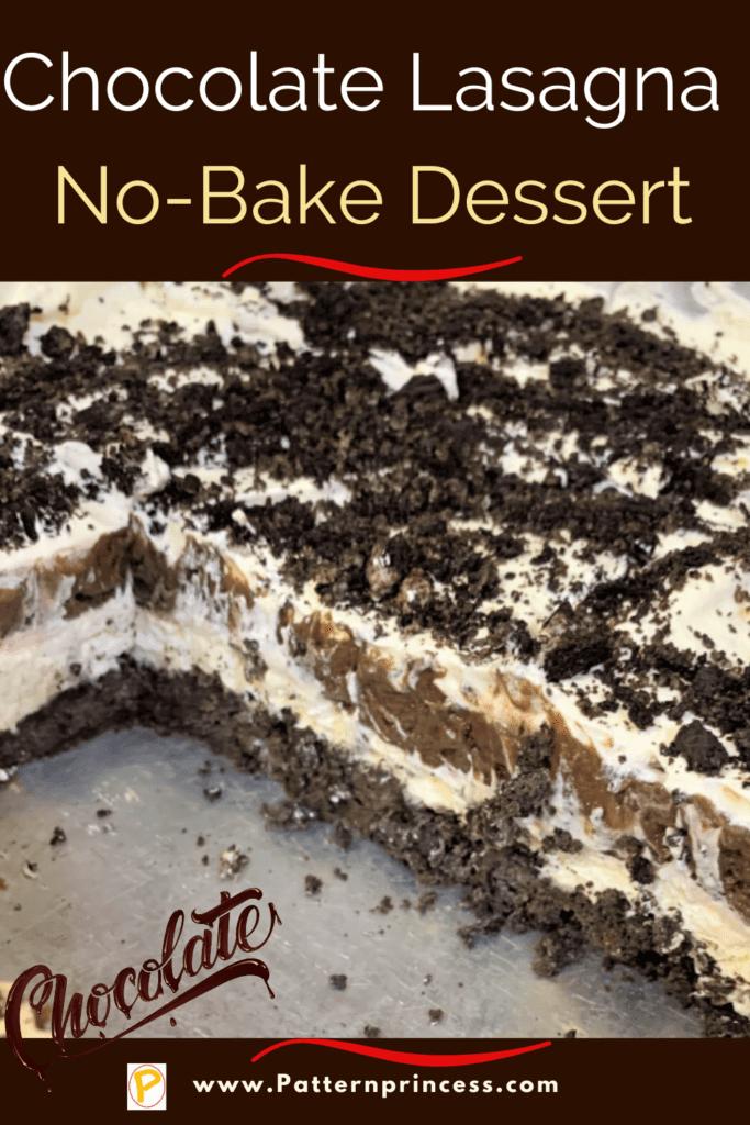 Chocolate Lasagna No-Bake Dessert