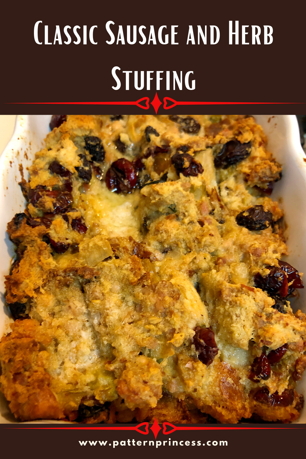 Classic Sausage and Herb Stuffing