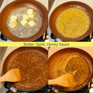 Butter, Garlic, Honey Sauce