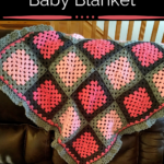 Pink and Grey Baby Blanket