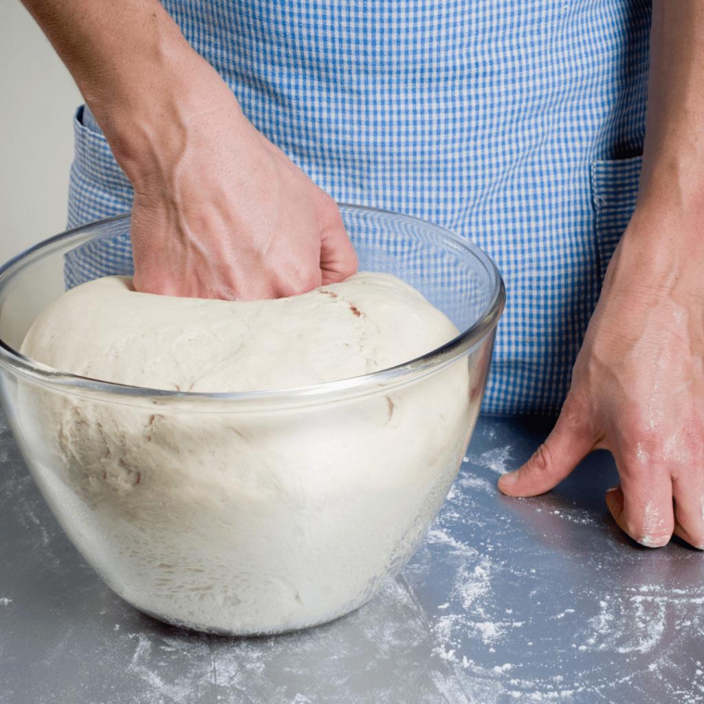 Punching Down the Dough