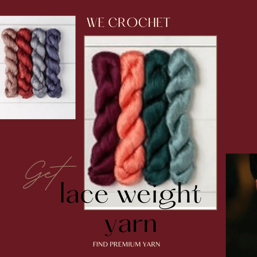 we crochet