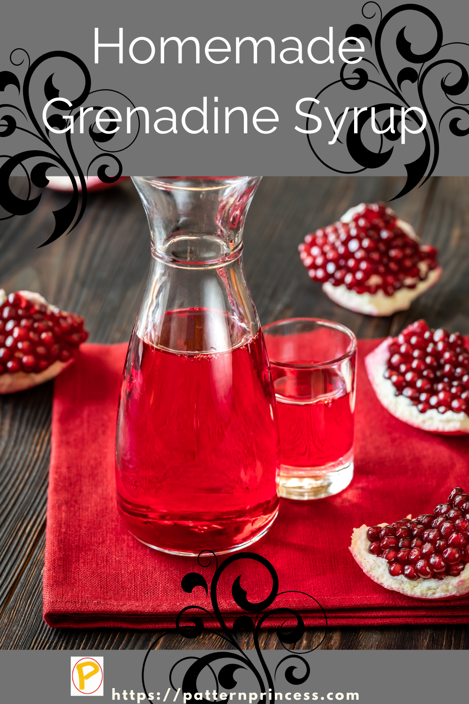 Homemade Grenadine Syrup