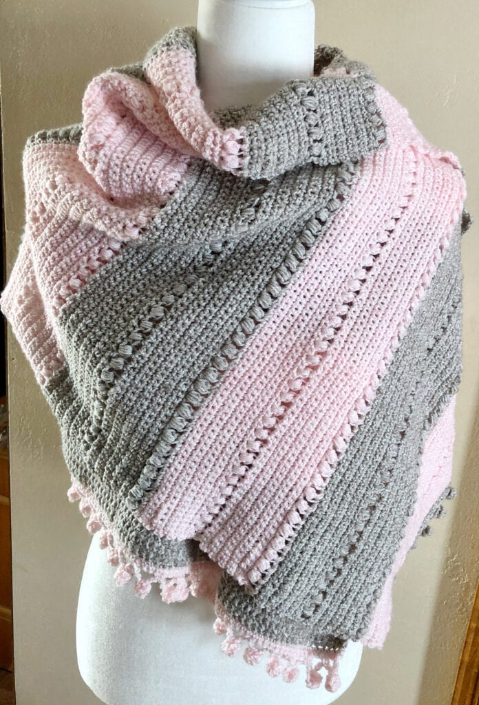 Light Crochet Poncho
