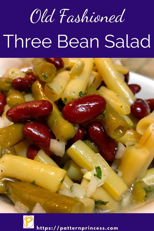 Old-Fashioned Three Bean Salad