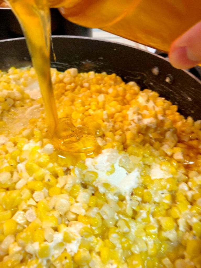 Pouring the Honey Over the Corn