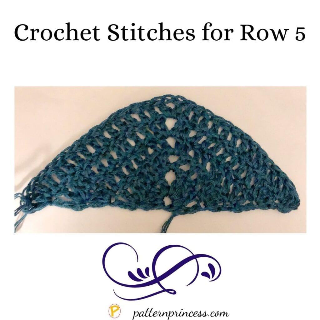 Row 5 Crochet Stitches