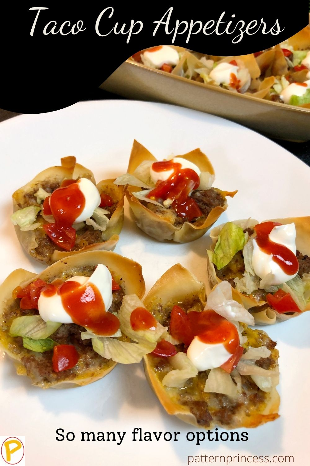 Taco Cup Appetizers