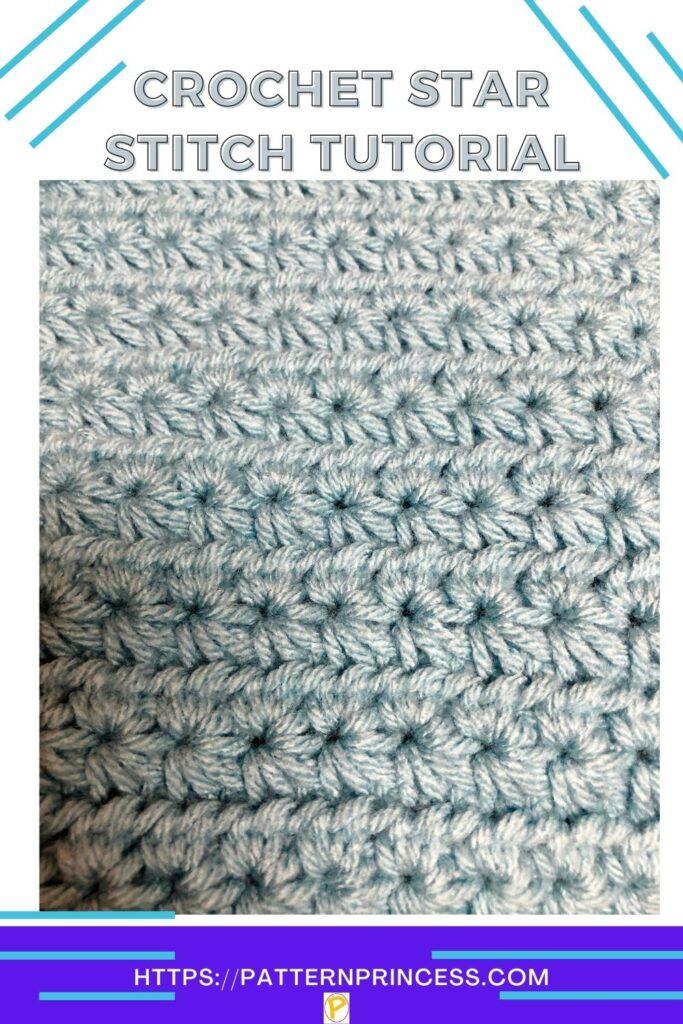 Crochet Star Stitch Tutorial