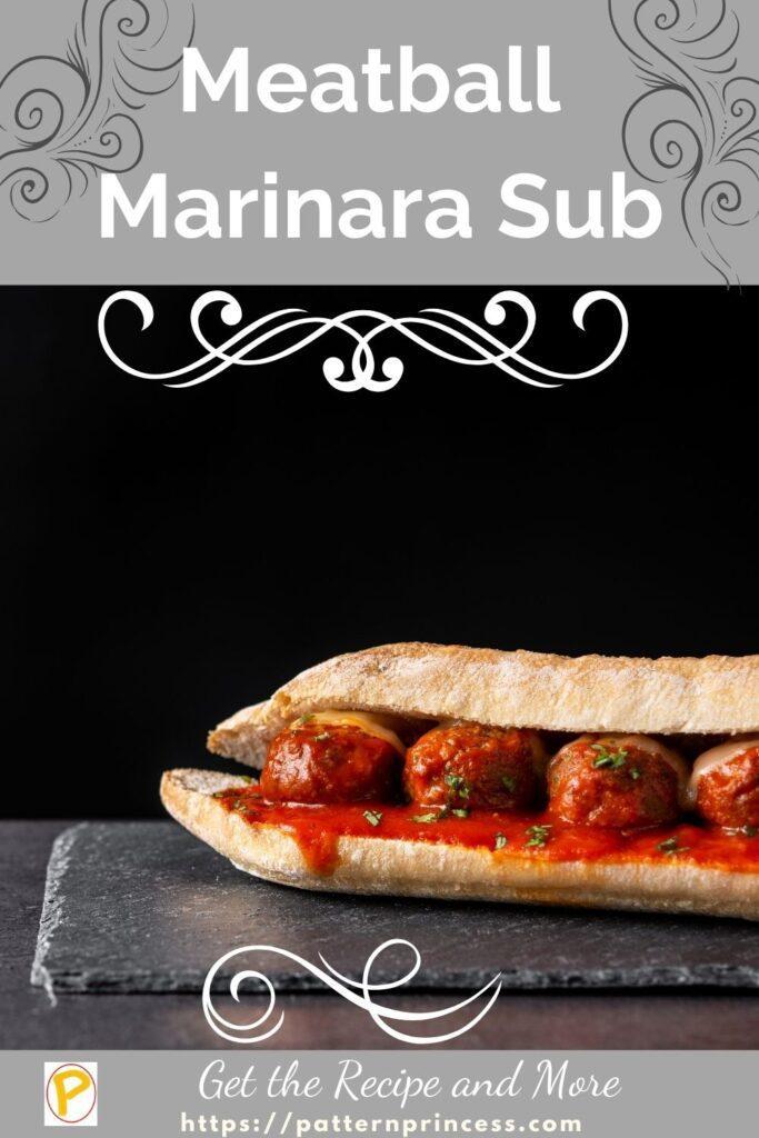 Meatball Marinara Sub