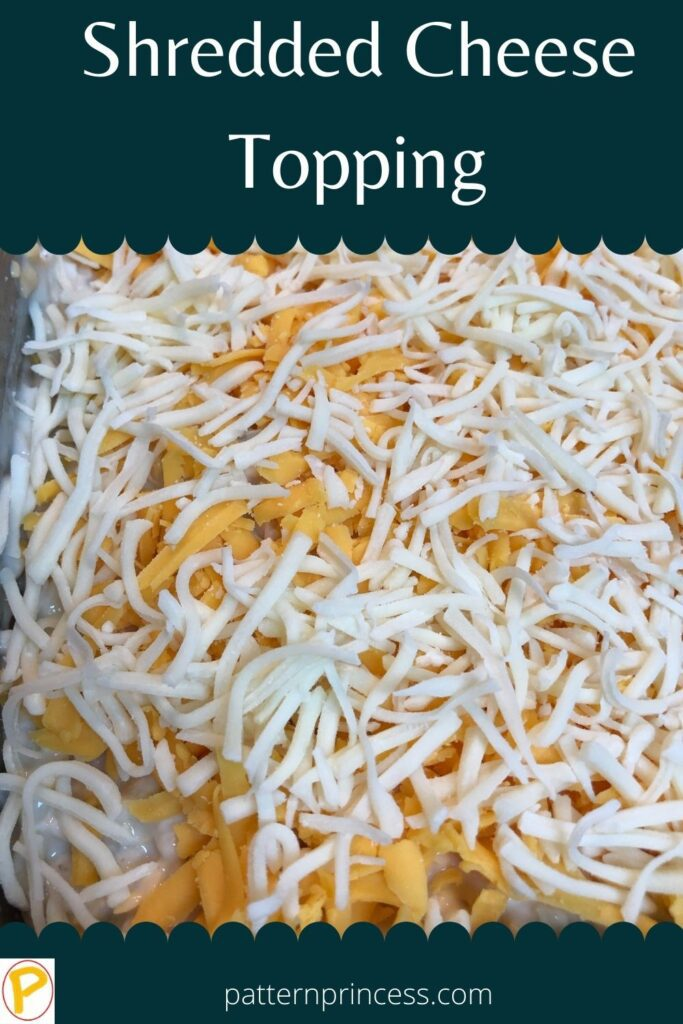 Shredded Cheese Topping