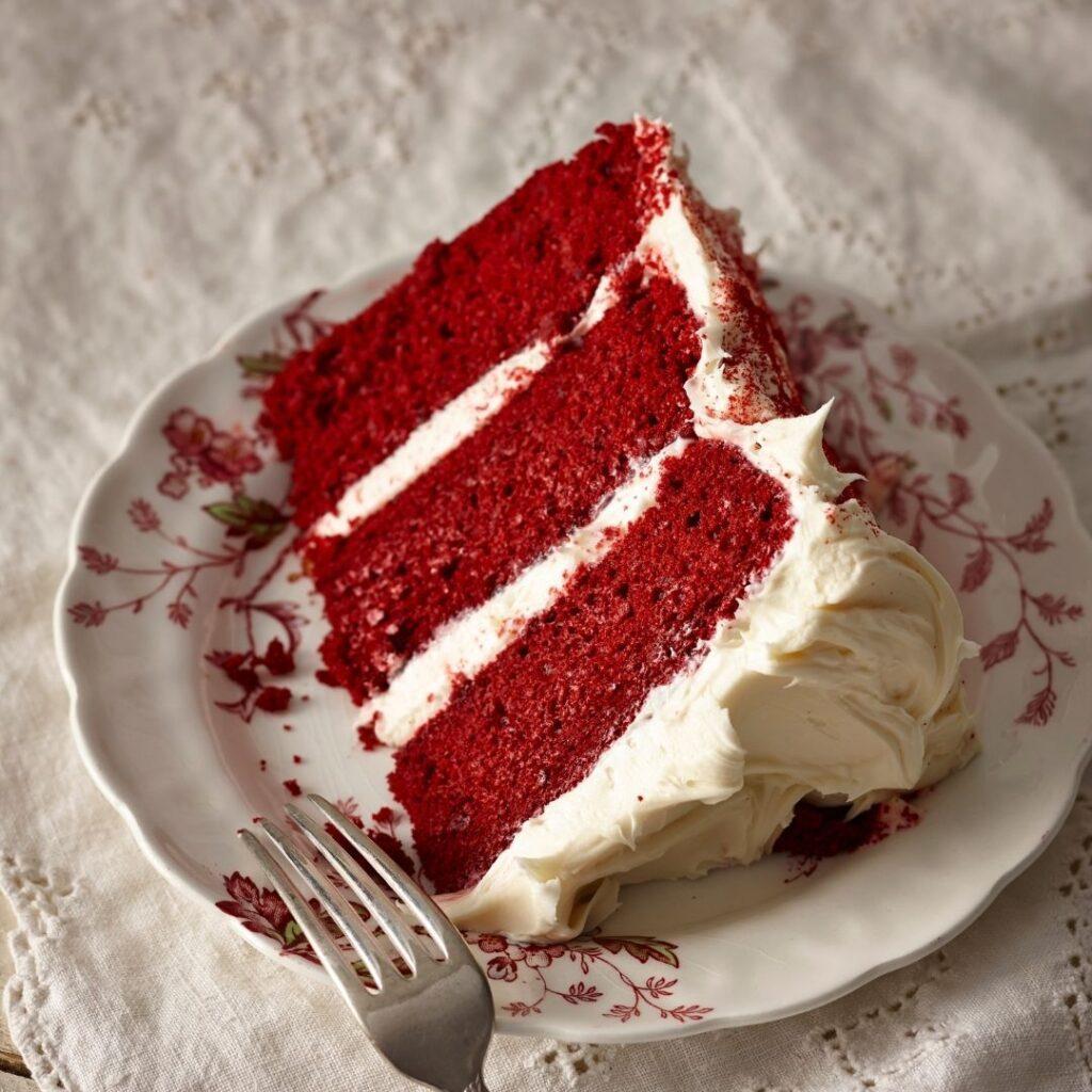 Three-Layered Cake Presentation