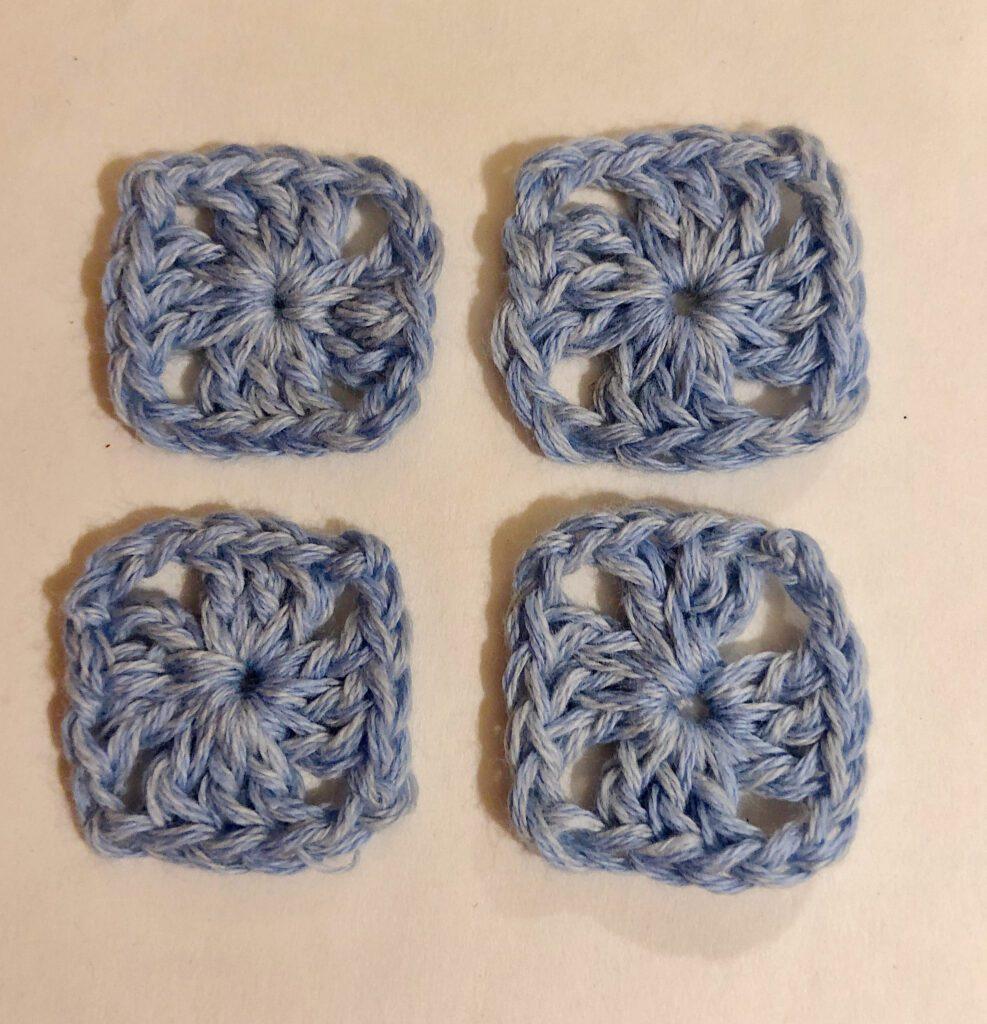 4 Easy Mini Granny Squares