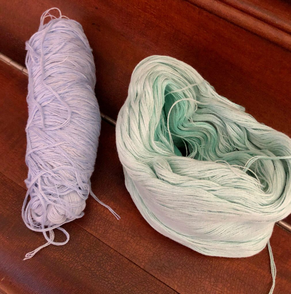 Fingering Yarn Used for Jewelry Making