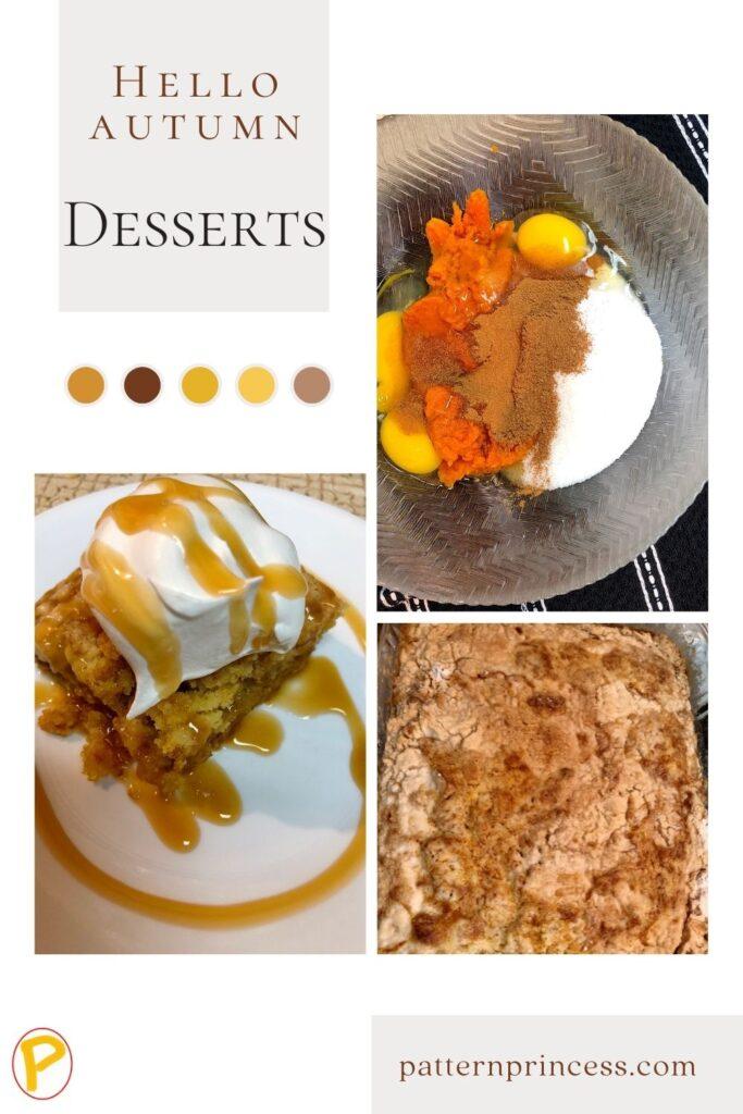 Hello Autumn Desserts