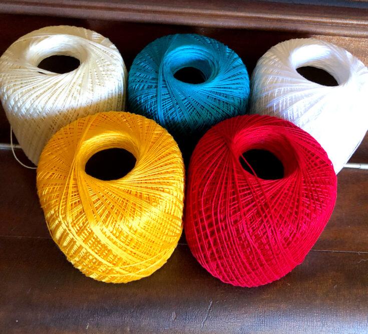 Number 10 Cotton Thread