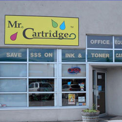 Mr Cartridge storefront in The Cannery