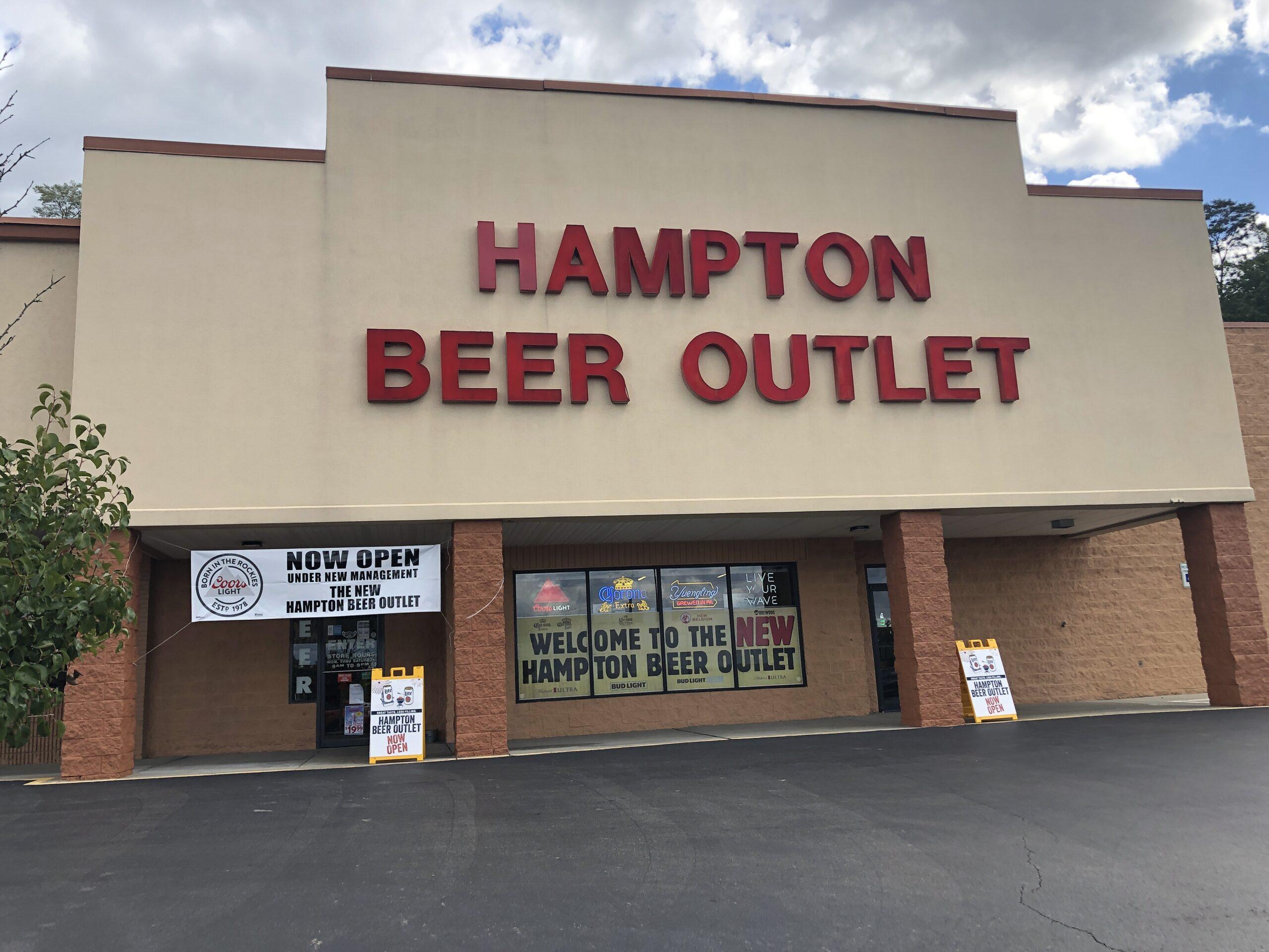 hampton-beer-outlet-front-exterior-pittsburgh-allison-park