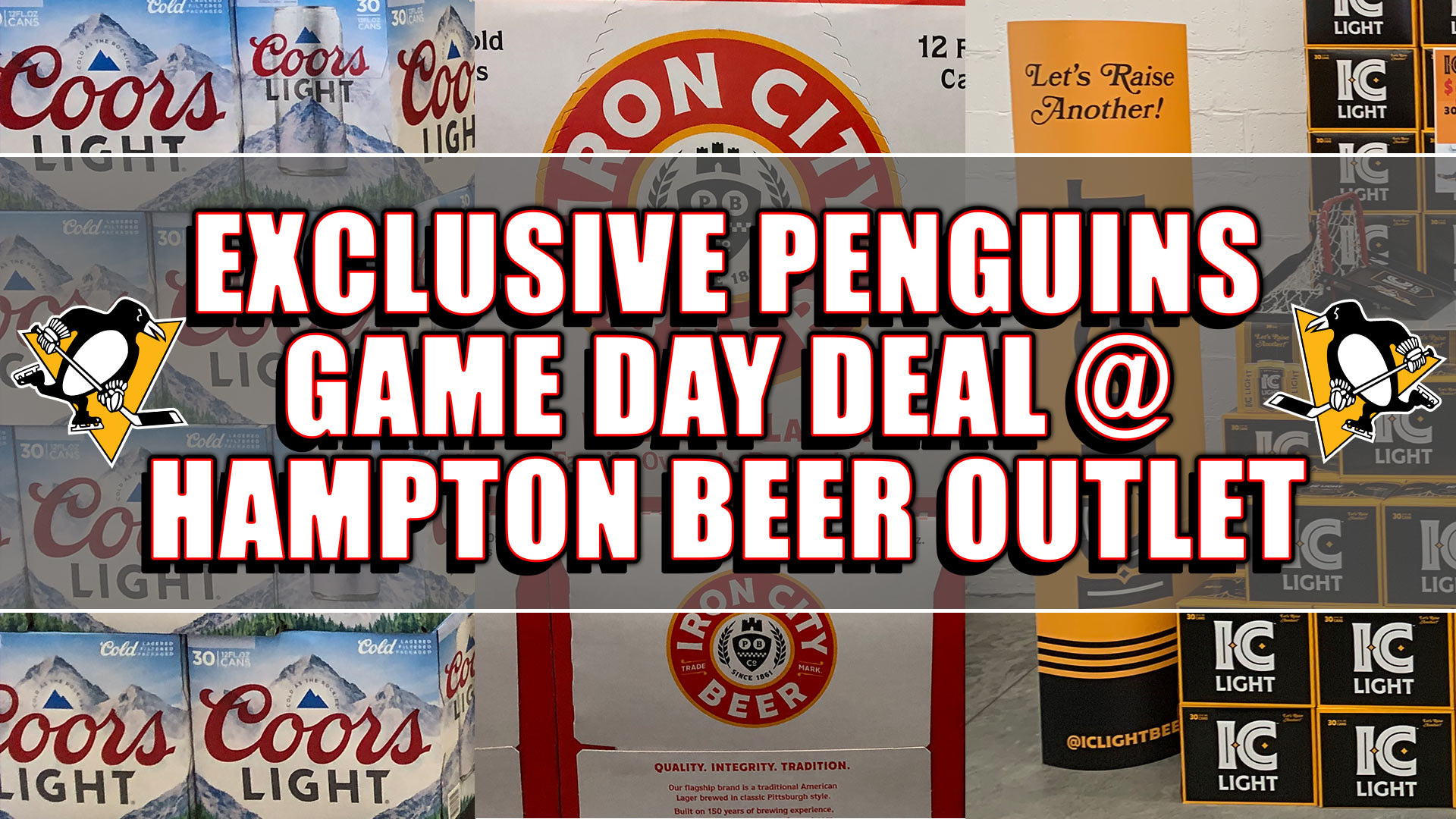 Pittsburgh Penguins SALE: Exclusive deal for Pens Game Day