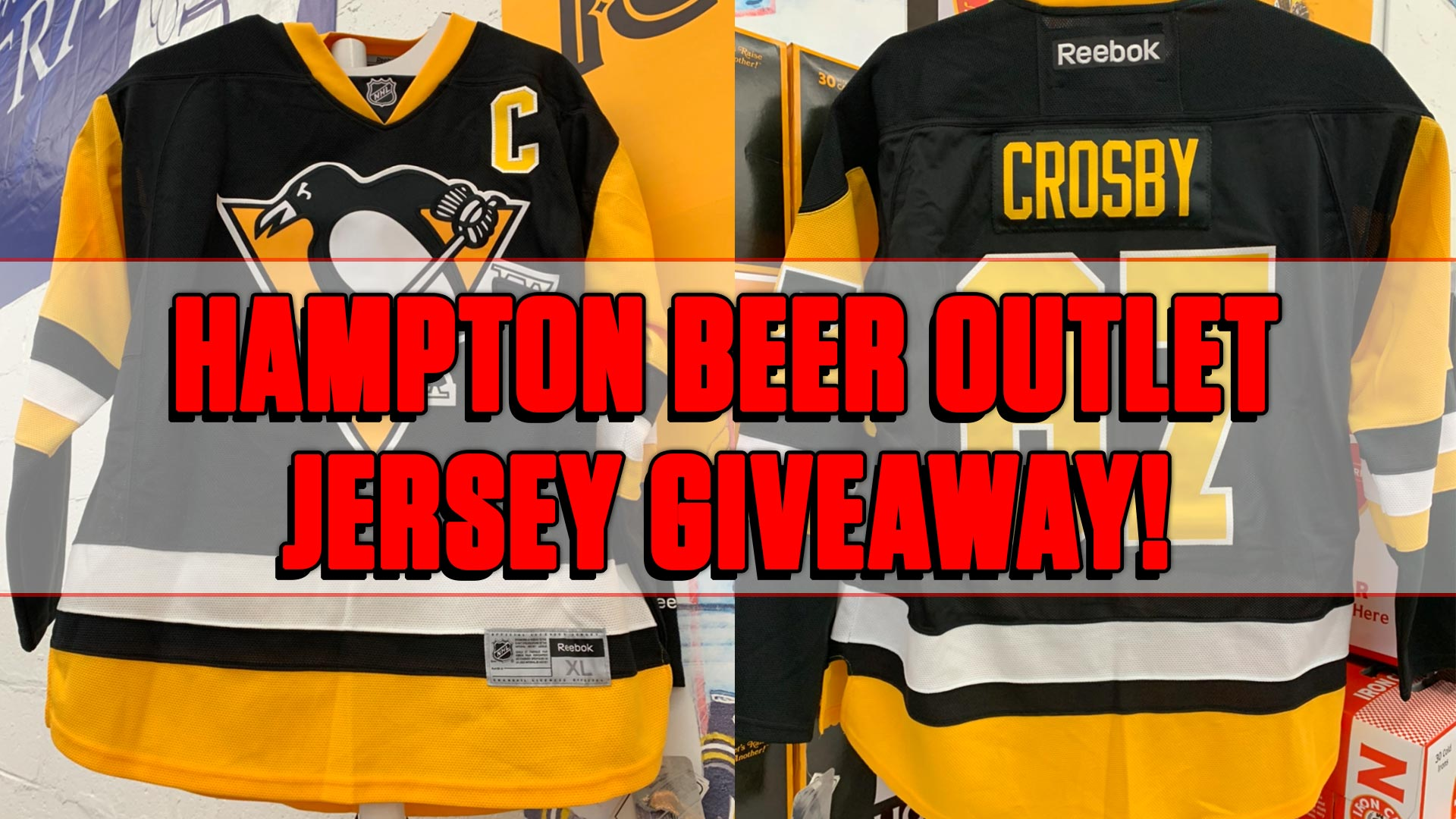 GIVEAWAY! Win a Sidney Crosby Pittsburgh Penguins Jersey