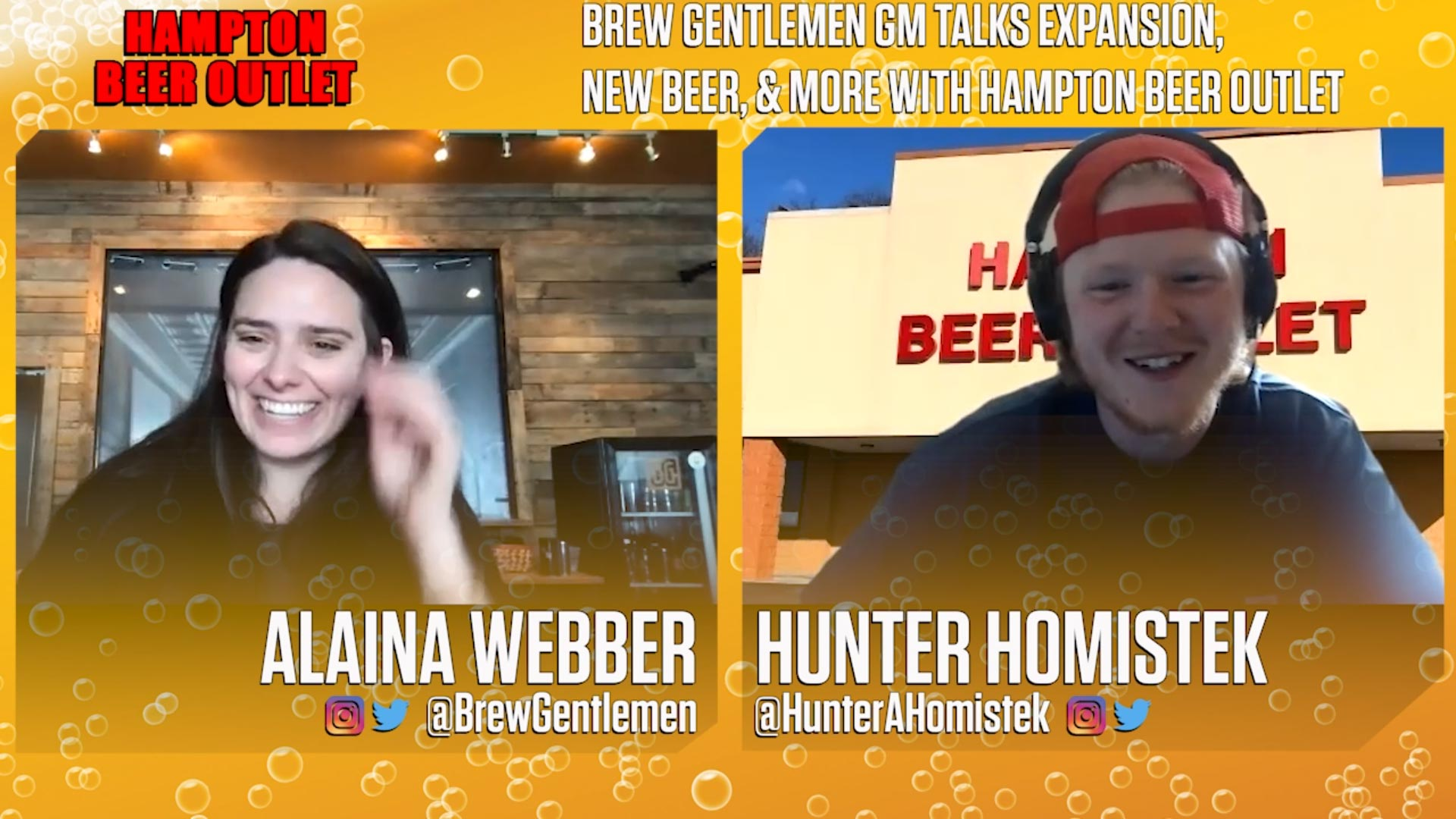 Brew Gentlemen Interview: GM Alaina Webber Talks NEW BEER, Expansion, Shipping, More