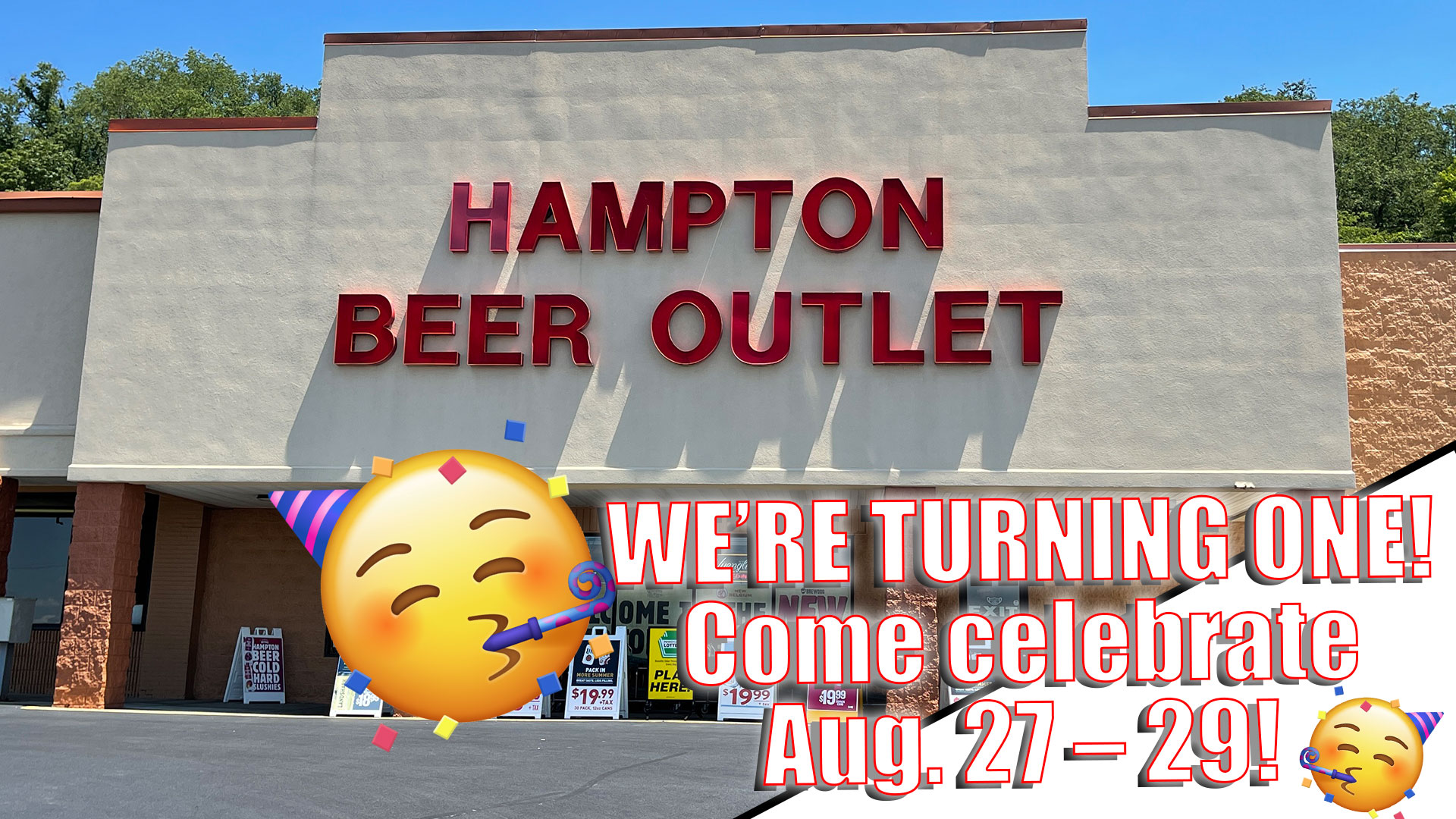 Hampton-Beer-Outlet-anniversary