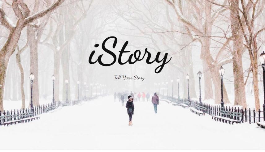 Start a free vlog on iStory