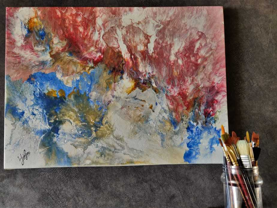 """""""Let the color flow"""" - Painting Series"""