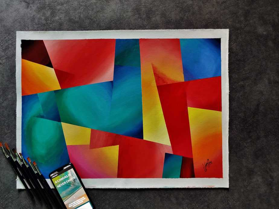 """""""Abstract"""" - Painting series"""