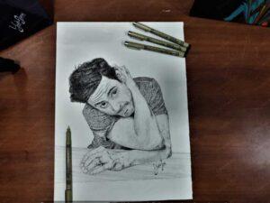 Robert Downey, Jr. - Portrait Sketch